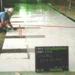 床石張り工事状況