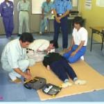 安全大会「AED(自動体外式除細動器)講習」