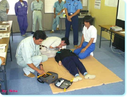 救命講習会AED03