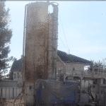 建築工事現場における「セメントミルク工法の杭打設手順」ビデオ編