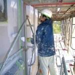 外壁特殊塗装(グラニパステル)