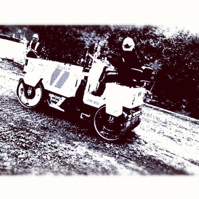 アスファルト舗装01