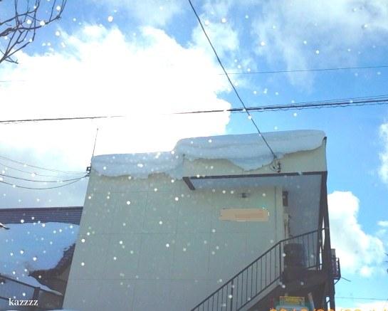 屋根落雪06