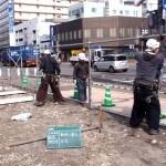 街中の工事現場は、高級な仮囲いで美しく!(フラットパネル編)