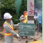 建築工事における「継杭溶接」その作業手順