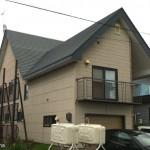 既存屋根板金の張替え作業