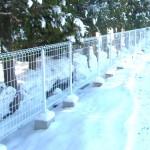 外構フェンスの施工手順(基礎掘削から完成まで)