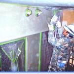 吹付タイル塗装(外装用)セメント系複層仕上げ材