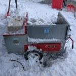 「スノーメルター」と「アカホット」北海道で冬の工事の必需品