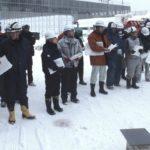 帳場の一日シリーズ。。。とっても寒い安全大会です!(冬の北海道編)