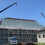 屋根張り状況10