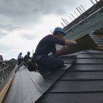 屋根張り状況02