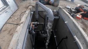 地下水式融雪槽(北海道)施工手順